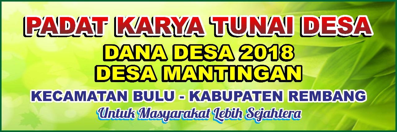 Laporan penyelenggaraan Pemerintahan Desa akhir tahun anggaran 2018